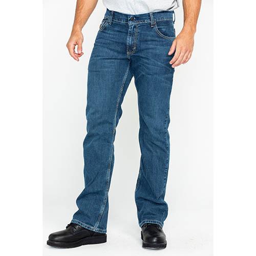 Wrangler FR Men's Retro Slim Boot Stretch Jean