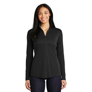 Sport-Tek® Ladies PosiCharge® Competitor™ 1/4-Zip Pullover
