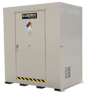 9-Drum Non-Combustible Outdoor Locker