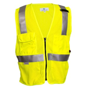 FR Hi-Vis Deluxe Road Vest