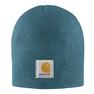 Carhartt Acrylic Knit Hat in Mineral Blue