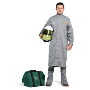 OEL 12 Cal FR Shield Long Coat Kit w/Hard Hat