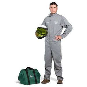 OEL 12 Cal FR Shield Coverall Kit w/Hard Hat