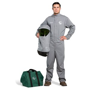 OEL 12 Cal FR Shield Coverall Kit w/Hood