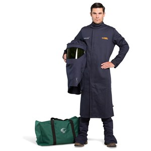 OEL 25 Cal Shield Long Coat Arc Flash Kit