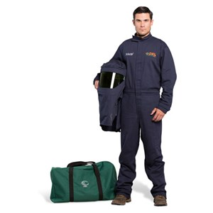 OEL 25 Cal FR Shield Coverall Arc Flash Kit