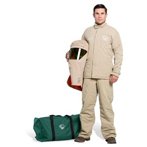 OEL 40 Cal FR Shield Jacket and Bib Overalls Arc Flash Kit