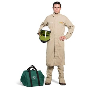 OEL 8 Cal FR Shield Long Coat Arc Flash Kit