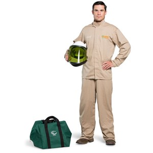 OEL 8 Cal Shield Jacket and Bib Overalls Arc Flash Kit