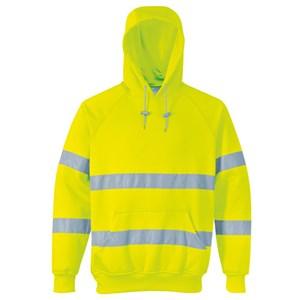 Hi-Vis Hooded Sweatshirt