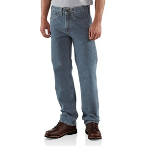 Traditional-Fit Straight-Leg Jean