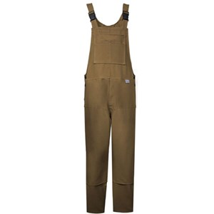 Deluxe FR Unlined Bib Overall in Brown