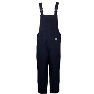 Deluxe FR Unlined Bib Overall in Navy
