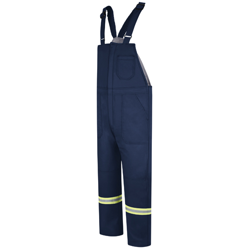 Deluxe FR Insulated Bib Overall with Reflective Trim