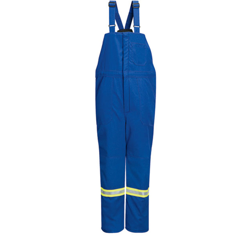 Deluxe Insulated Bib Overall with Reflective Trim