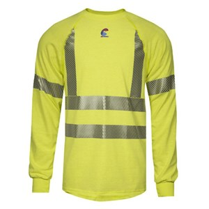 Hi-Vis FR Control 2.0 Base Layer Long Sleeve Tee - Class 3