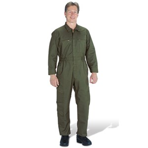 Traditional (7.75 oz) Tactical Wear Unlined Coverall in Olive