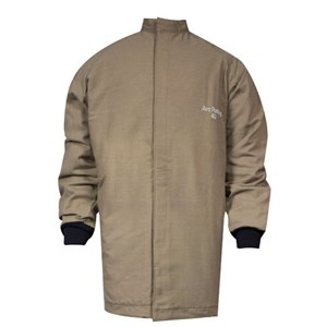 40 Cal / CAT 4 Short Coat with Zipper in multi-layer Protera blend