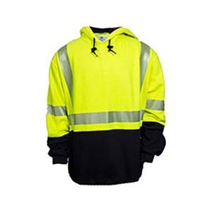 FR Hi-Vis Deluxe Hybrid Pullover Sweatshirt