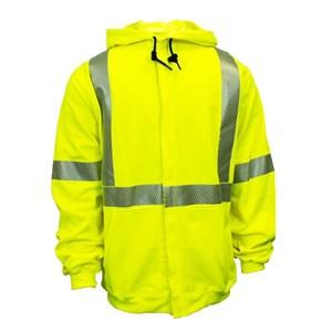 d8be8f59be6d Hi-Vis Flame Resistant Hooded Sweatshirt with Zipper