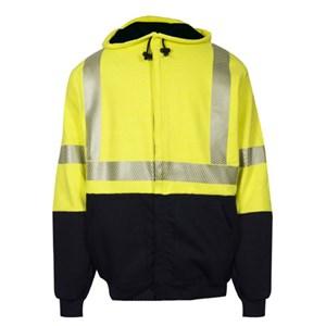 DWR FR Hybrid Hi-Vis Sweatshirt