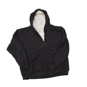 Lined Hooded FR Sweatshirt with Zipper