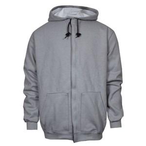 Thermal Lined Zip Front FR Hooded Sweatshirt