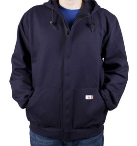 DWR Unlined Zip-Up Fleece Hoodie