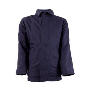 Flame Resistant Bomber Jacket in Navy
