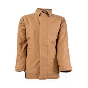 Flame Resistant Bomber Jacket in Brown
