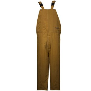 100 cal/cm² CAT 4 Arc Flash Bib Overall in Multi Layer NOMEX/KEVLAR