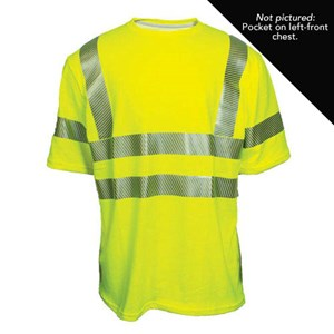 Hi-Vis Short Sleeve T-Shirt with Pocket