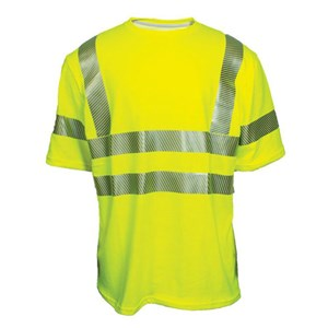 Dual Action Hi-Vis Short Sleeve T-Shirt, ANSI 107, Class 3