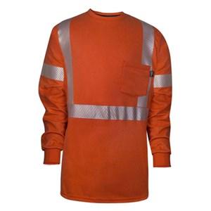 Vizable X-Back Long Sleeve FR T-Shirt
