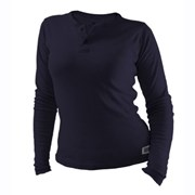 Women's TrueComfort® Long Sleeve Knit Henley