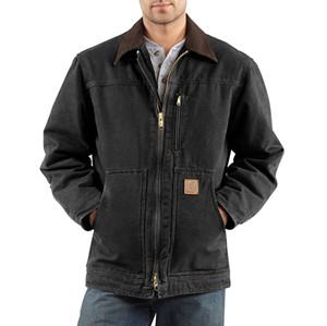 Carhartt Ridge Coat with Sherpa Lining
