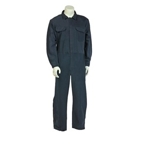 7 oz. UltraSoft® FR Coverall with leg zippers in Navy