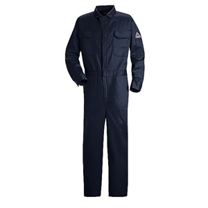 FR Deluxe Contractor Coverall in 9 oz. 100% Cotton in Navy
