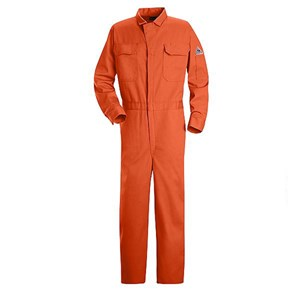 FR Deluxe Contractor Coverall in 9 oz. 100% Cotton in Orange