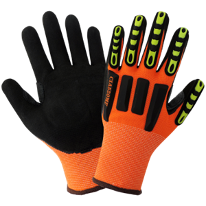 Vise Gripster - High-Visibility Impact Protection Gloves