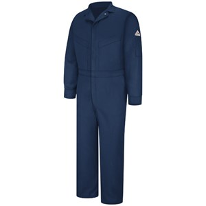 Lightweight Deluxe Flame Resistant Coverall in Navy