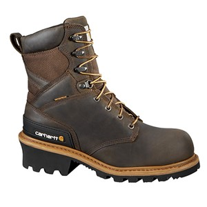 "Waterproof 8"" Soft Toe Logger Boot"