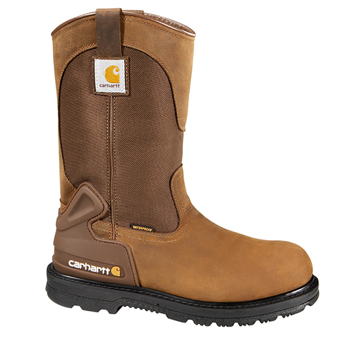 Bison Waterproof Work Boot with Safety Toe