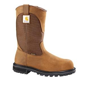 """11"""" Brown Waterproof Wellington"""