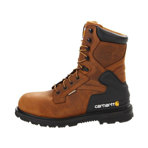 Men's 8-Inch Bison Waterproof Boot - Safety Toe