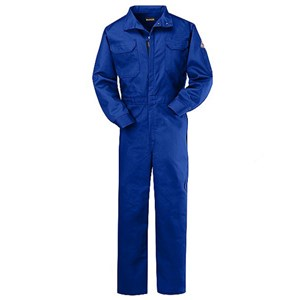 FR Deluxe Coverall - 4.5 oz NOMEX IIIA in Royal Blue
