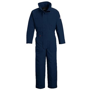 Deluxe Insulated FR Coverall in NOMEX IIIA in Navy