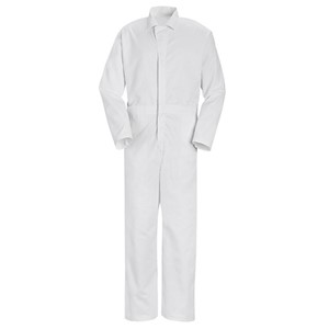 Twill Action Back Coverall - No Chest Pockets