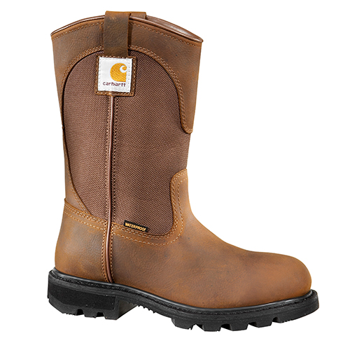 "Women's 11"" Bison Waterproof Wellington - Safety Toe"