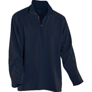 DRIFIRE Mock-Zip Fleece in Navy